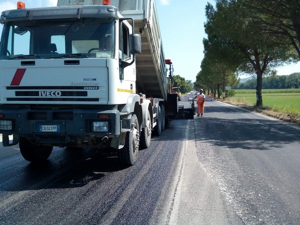 Provinciale 8: il completamento dei lavori in autunno. Interventi previsti anche su altre strade
