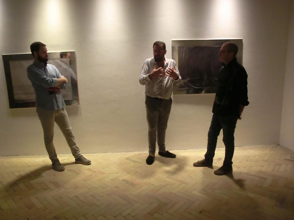 """Civitella, inaugurata """"Sealed Draw"""" dell'artista Marco Appicciafuoco"""