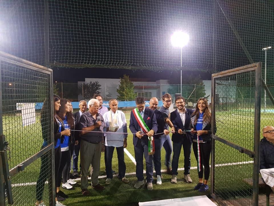 Sant'Omero, inaugurato il campo sportivo di Garrufo