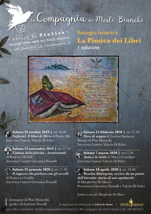 La pintìca dei libri, al via la prima rassegna letteraria a Giulianova