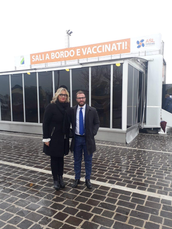 Il truck anti-influenza della Asl di Teramo arriva a Giulianova