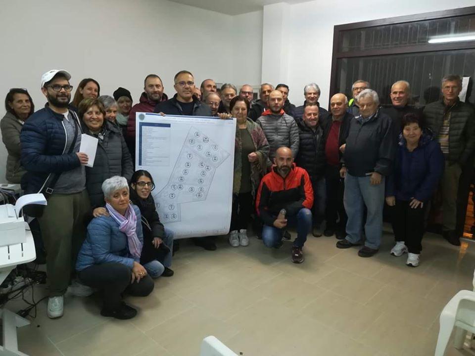 Civitella, nasce la nuova Ponzano: assegnati i lotti alle famiglie