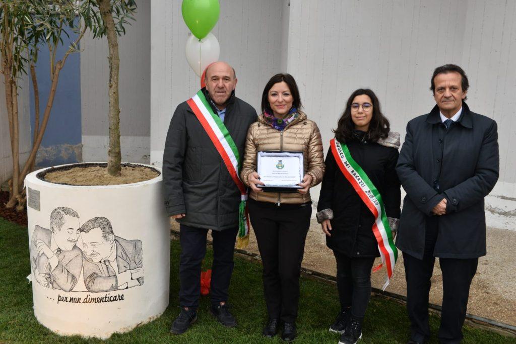 Corropoli, premio all'Istituto Comprensivo per la legalità