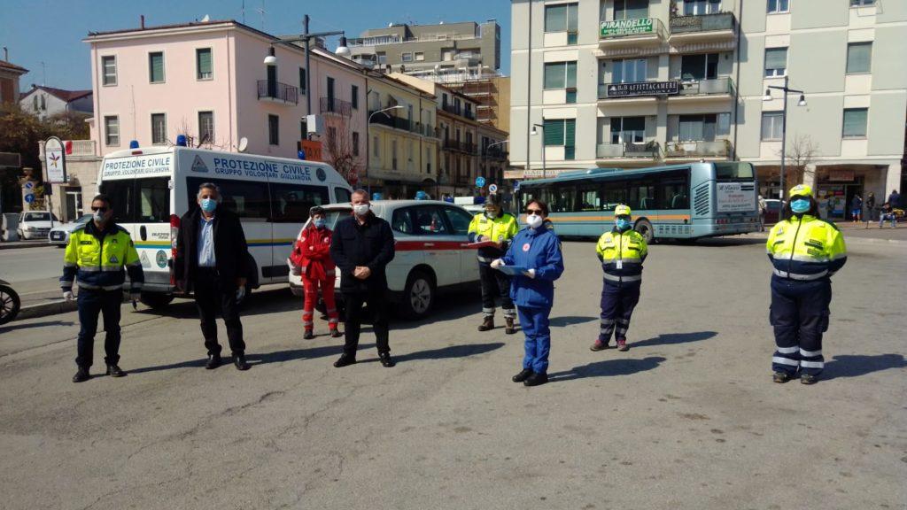 Giulianova, potenziato il presidio sanitario alla stazione