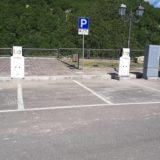 Valle Castellana, installate duecolonnine per la ricarica auto elettriche
