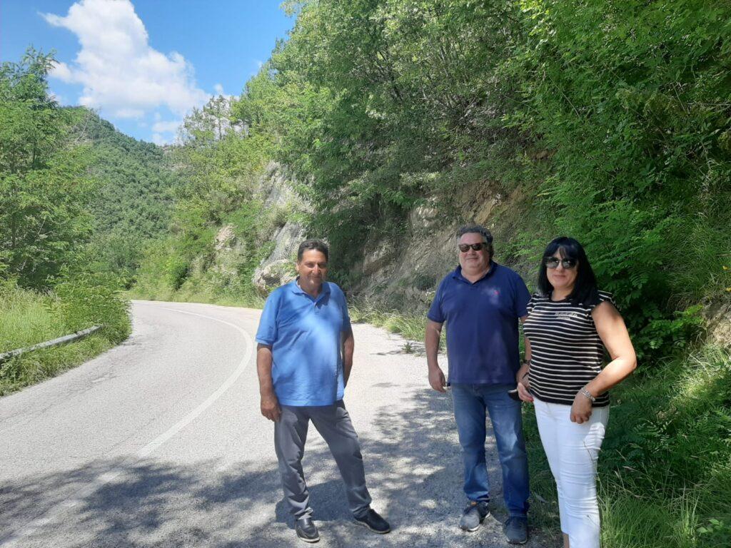 Valle Castellana: al via i lavori di messa in sicurezza sulla provinciale 49
