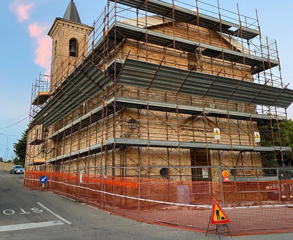 Ancarano, al via i lavori di restauro dell Chiesa della Madonna della Carità