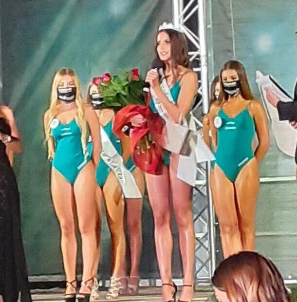 Tortoreto, incoronata la nuova Miss Abruzzo: Anastasia Di Pietro