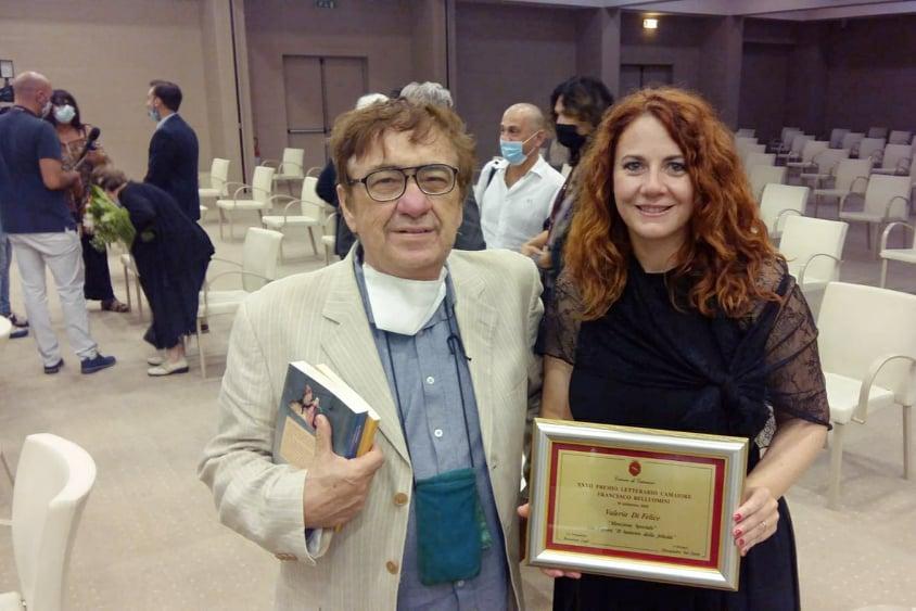 Premio Camaiore - Belluomini: Menzione speciale a Valeria Di Felice