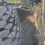Valle Castellana: prende forma la nuova piazza in frazione Colle