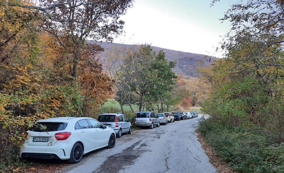 Campli, Monte Foltrone preso d'assalto nel weekend dagli escursionisti