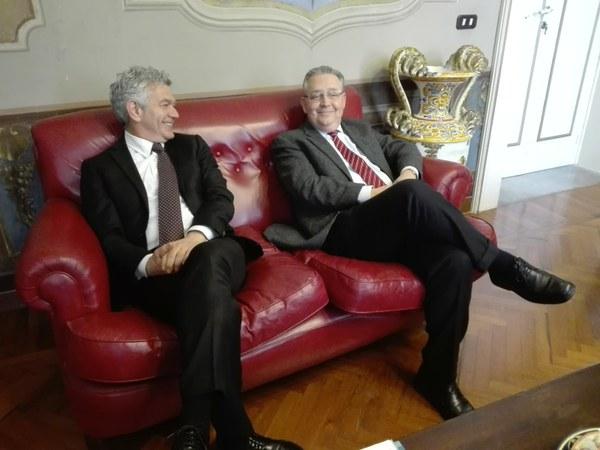 Il Commissario prefettizio di Teramo in visita in Provincia
