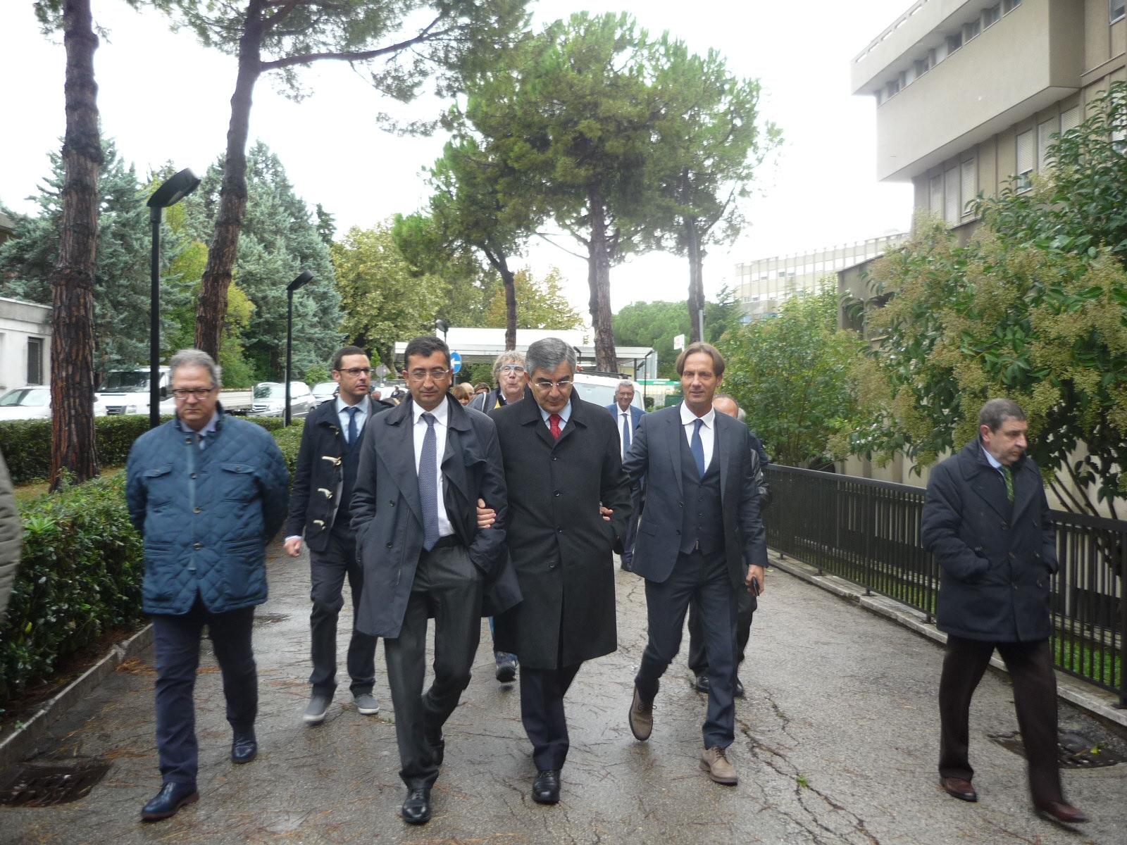 Nuovo ospedale Teramo, utilizzati i fondi di Giulianova: sconcerto del sindaco