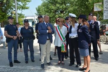 Alba Adriatica, più Polizia sulla costa e nuovo presidio