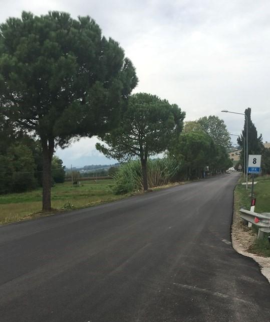 Sant'Omero, iniziati i lavori di asfaltatura lungo la bonifica del Salinello