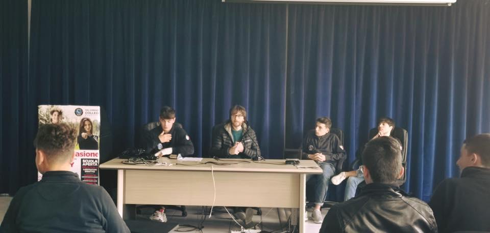 """Al liceo scientifico Aeronautico di Corropoli assemblea studentesca dedicata al tema delle """"mafie"""