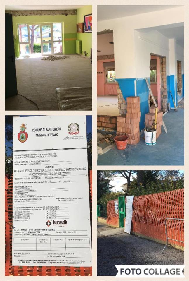 Sant'Omero, al via i lavori di adeguamento sismico scuola dell'Infanzia