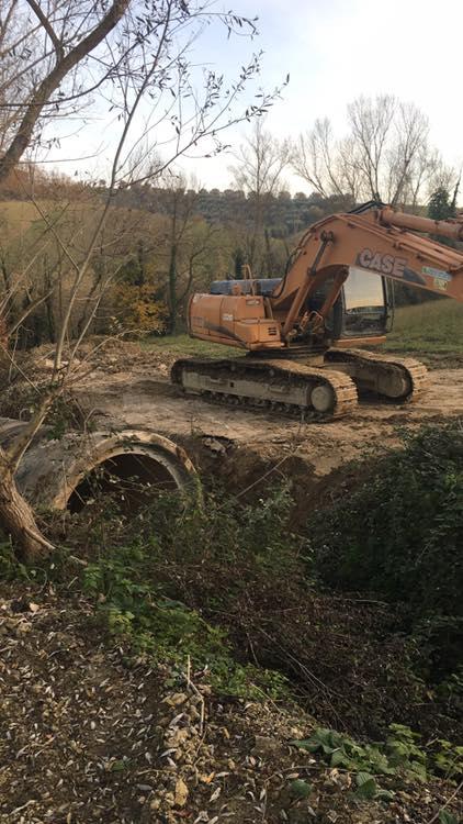 Poggio Morello, iniziati i lavori di canalizzazione in via Fosso Grande