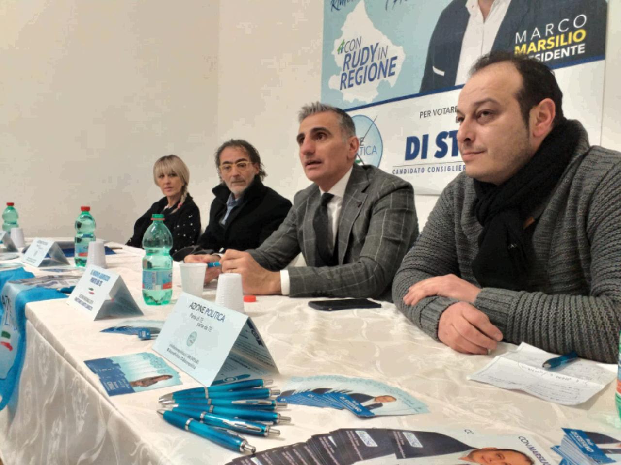 Giulianova, inaugurata la sede comitato elettorale di Rudy Di Stefano di Azione Politica