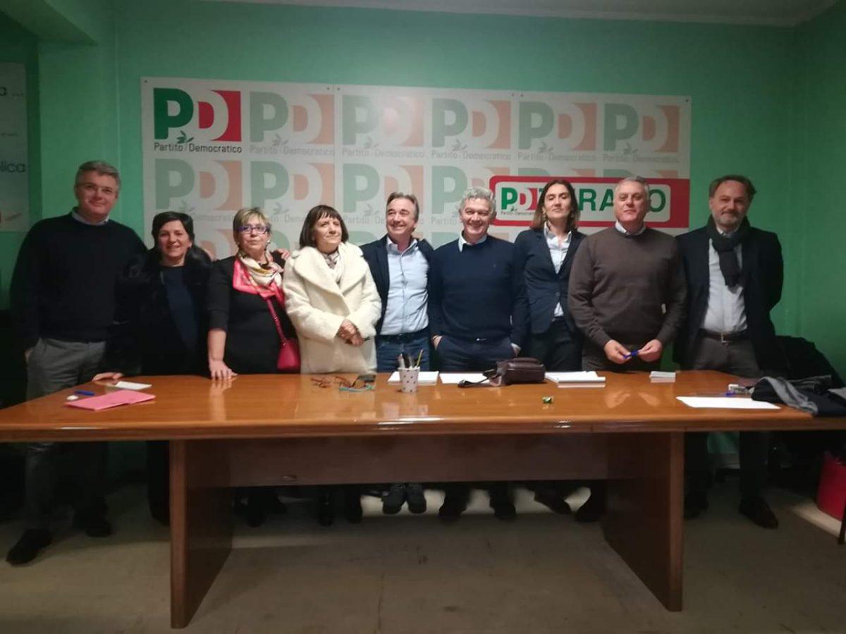 Elezioni regionali, presentata la lista dei candidati Pd Teramo