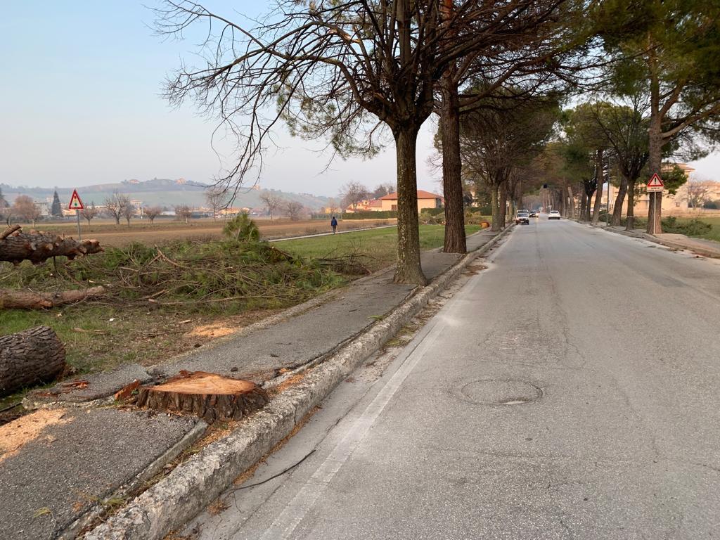 Sant'Egidio, partono i lavori di messa in sicurezza di viale Abruzzi e via Vittorio Veneto