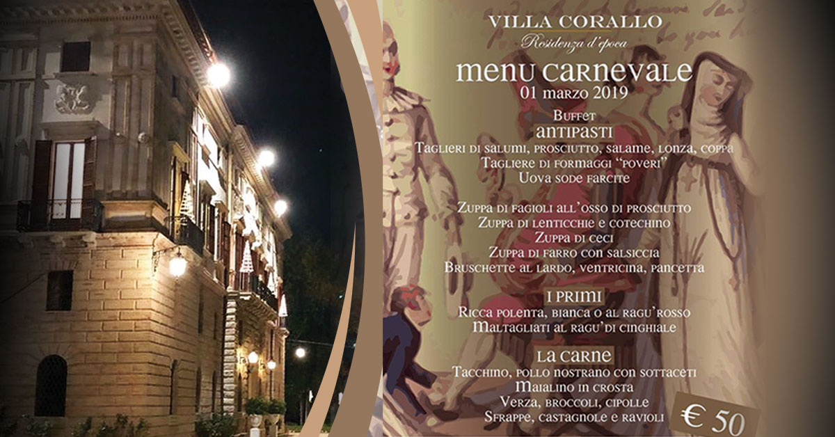 """Carnevale medievale in Villa …""""il cibo, le dame, i cavalier, l'armi e l'amor"""""""