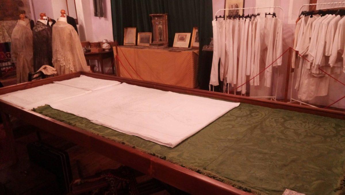 Civitella, al museo Nact in esposizione la coperta di Ferdinando II