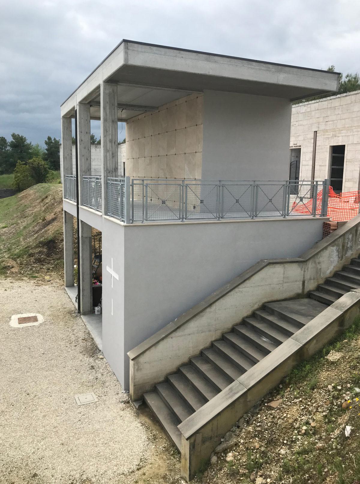 Cimitero Sant'Omero, ultimati 36 nuovi loculi