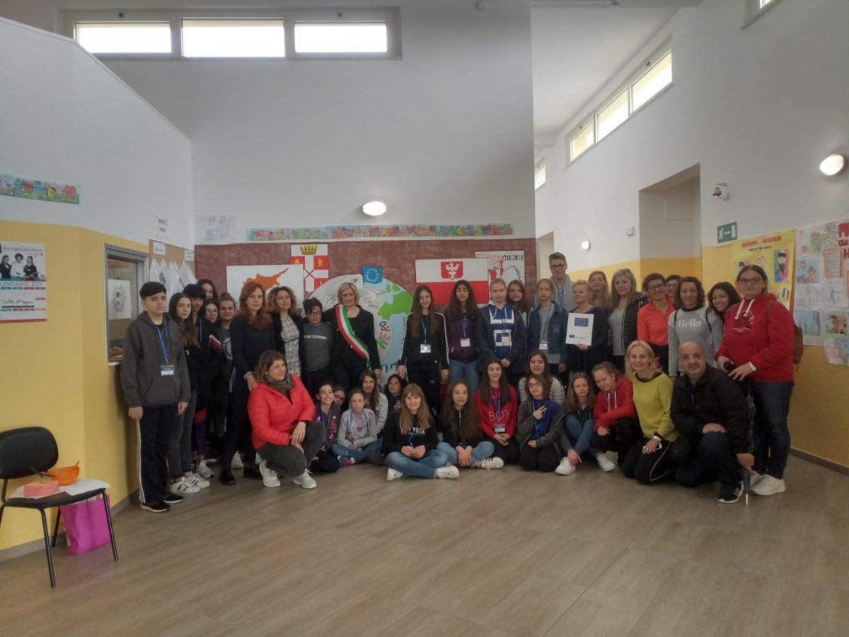 Erasmus+, all' IC Civitella-Torricella tanti giovani da Cipro, Polonia e Spagna