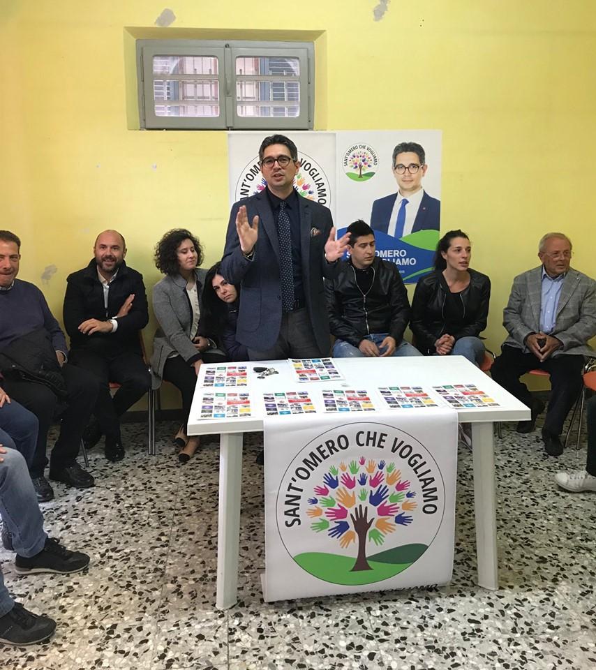 """Elezioni, """"Sant'Omero che vogliamo"""" incontra i cittadini"""