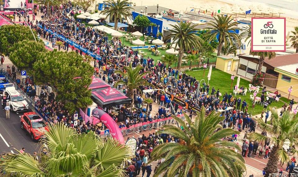 Giro d'Italia, Lanciano-Tortoreto: alla presentazione c'è Moser