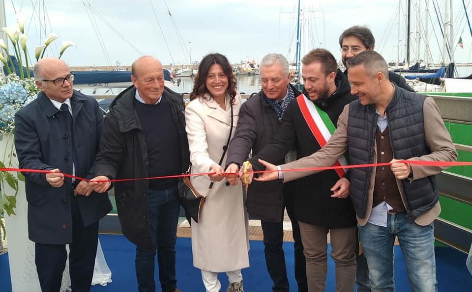 Giulianova, inaugurato il primo resort galleggiante in Abruzzo