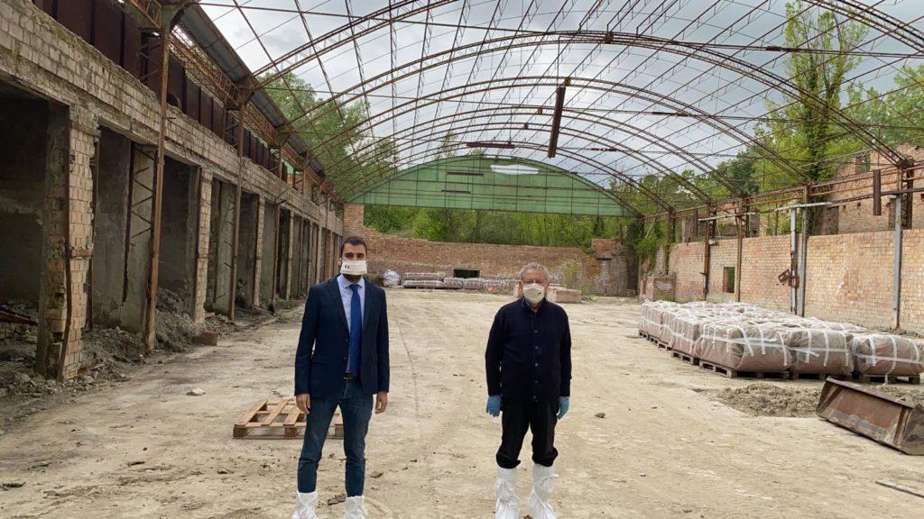 Sant'Onofrio, dopo 50 anni bonificata ex fornace Carradori
