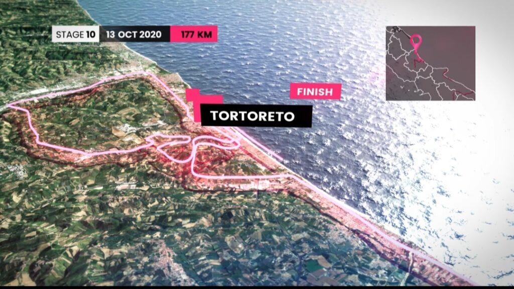 """Giro d'Italia, è ufficiale: il prossimo 13 ottobre la """"Lanciano-Tortoreto"""""""
