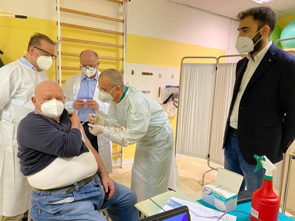 Covid, a Campli vaccinati 318 ultra ottantenni