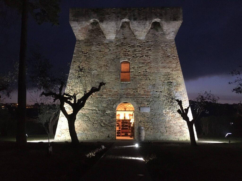 Giulianova, riapre l'antica torre del Salinello, riqualificata e illuminata