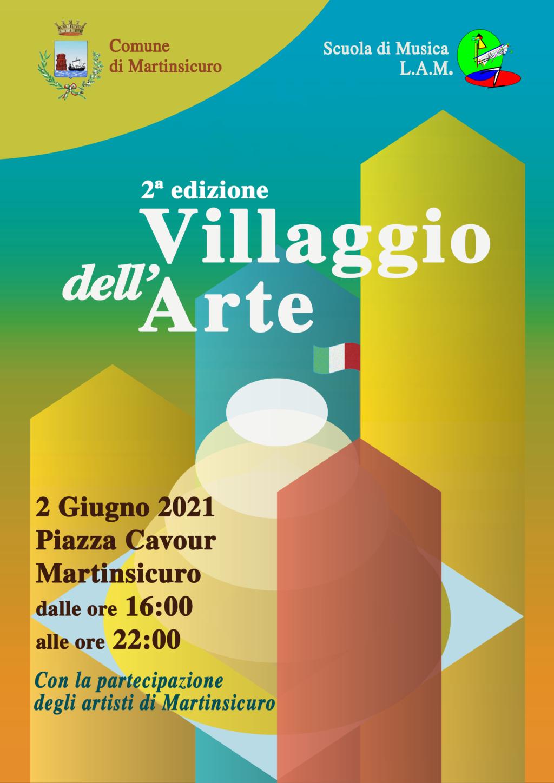 """""""Villaggio dell'Arte"""": al via la seconda edizione con le esibizioni degli artisti di Martinsicuro"""