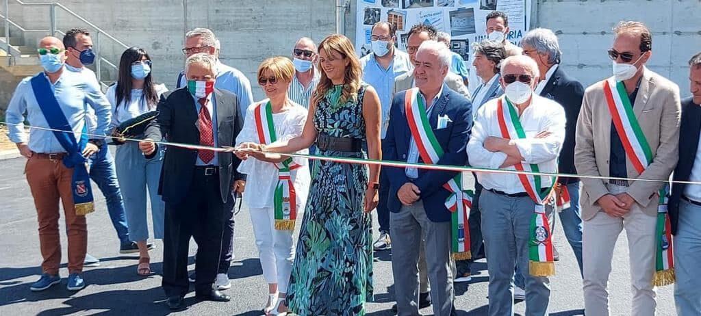 Alba Adriatica, inaugurato il nuovo depuratore. Servirà cinque Comuni