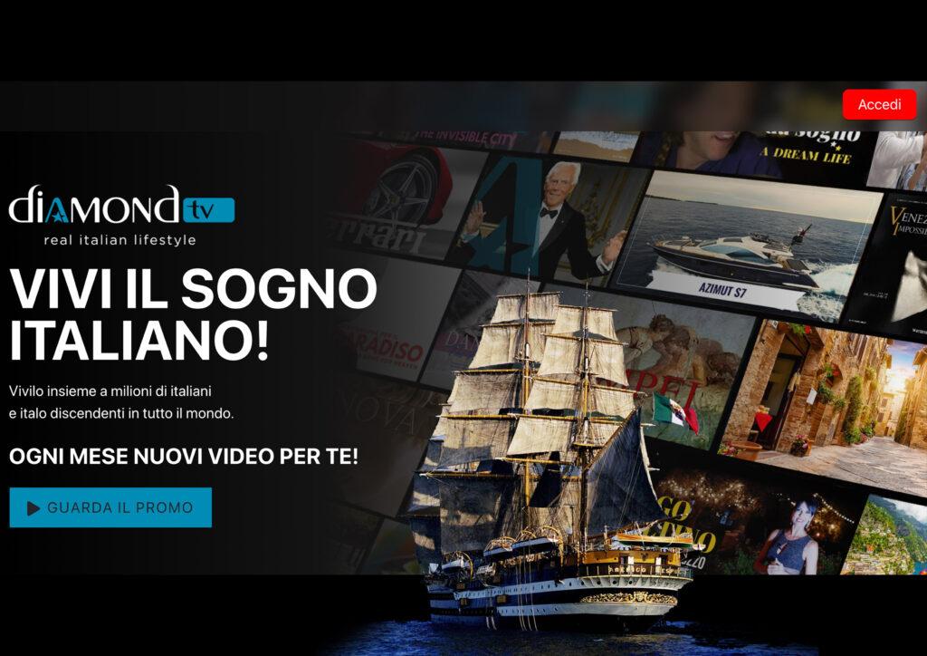 Diamond Tv, firmato l'accordo con i Borghi più Belli d'Italia